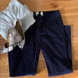 London Jean Blue Suede Chino